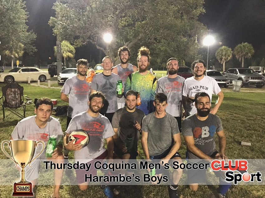 Harambe's Boys - CHAMPS