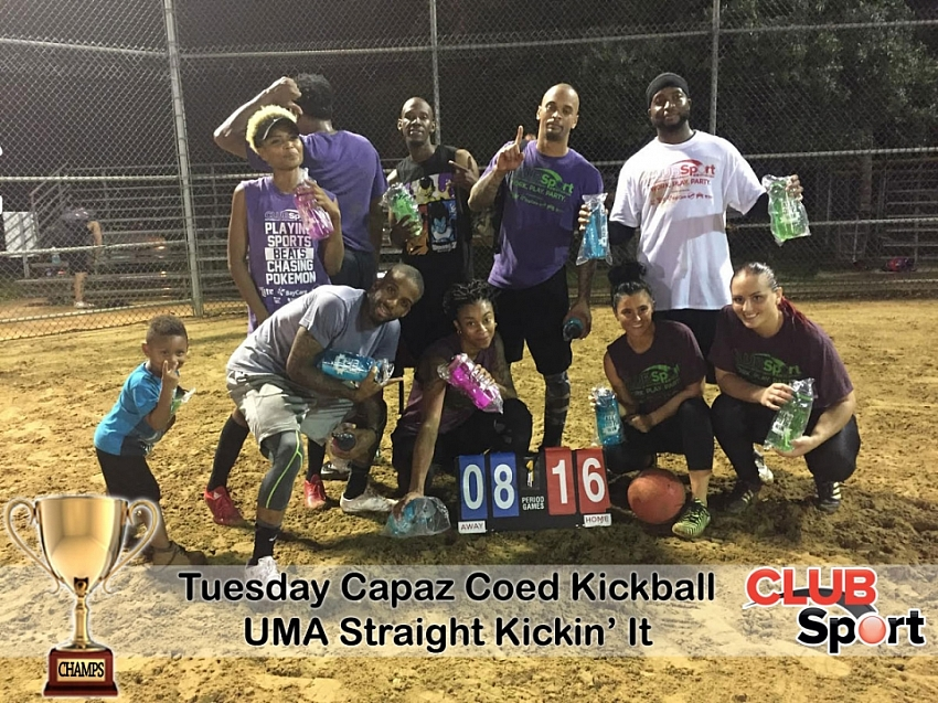 UMA - Straight Kickin It - CHAMPS