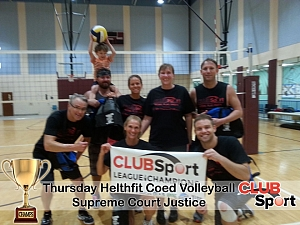 Supreme Court Justice - CHAMPS Team Photo