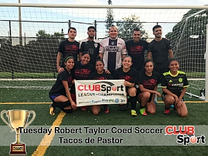 Tacos de Pastor - CHAMPS Team Photo