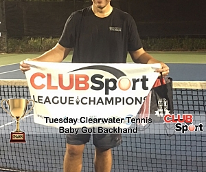 Baby Got Backhand (r) - CHAMPS photo