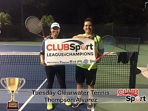 Thompson/Alvarez (c) - CHAMPS photo