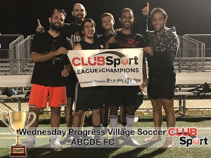 ABCDE  F.C. - CHAMPS photo