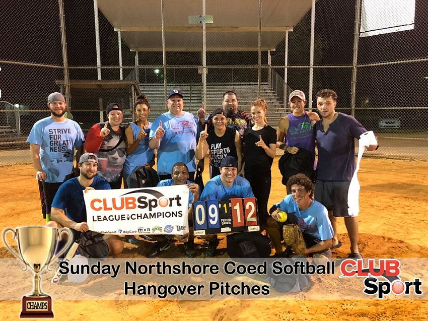 Hangover Pitches - CHAMPS