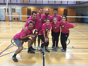 Pink Panthers Team Photo