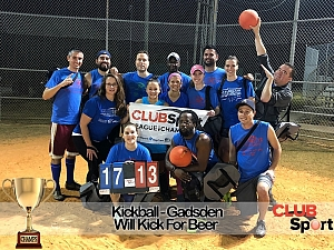 Will Kick For Beer - CHAMPS Team Photo