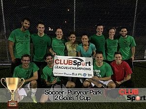 2 Goals 1 Cup - CHAMPS Team Photo