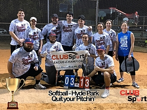 Quit Your Pitchin - CHAMPS Team Photo