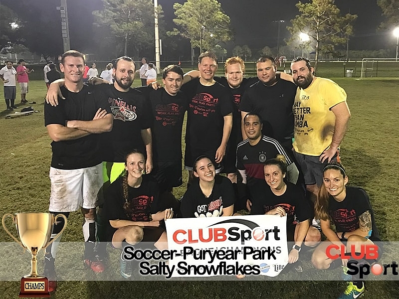 Salty Snowflakes - CHAMPS