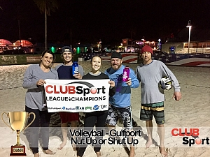 Nut Up or Shut Up - CHAMPS Team Photo