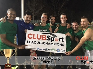 Tritons - CHAMPS Team Photo