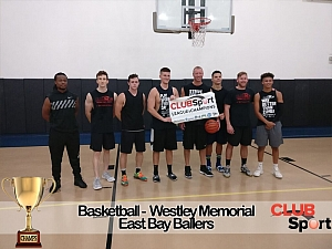 East Bay Ballers - CHAMPS Team Photo