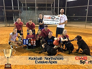 evASIve apes - CHAMPS Team Photo