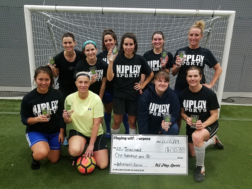 2017 Indoor women's soccer champs