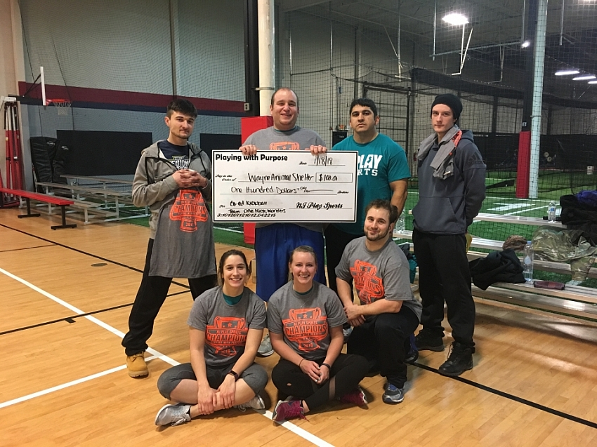 2017 Indoor kickball champs
