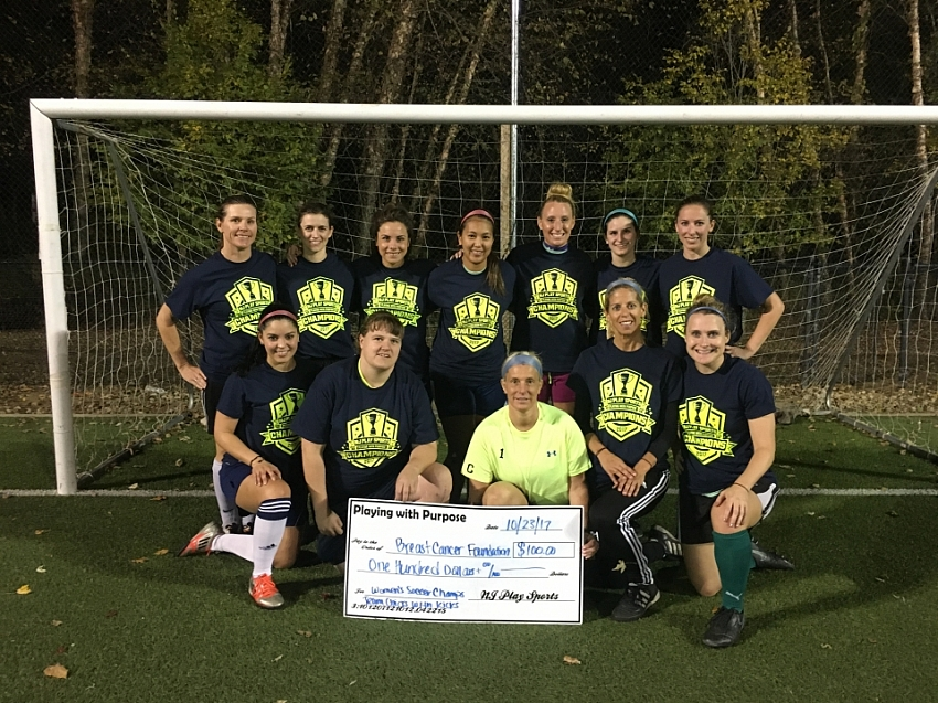 2017 monday women's soccer champs