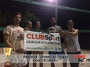 boom and gloom - CHAMPS Team Photo
