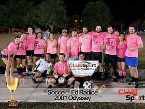 2001 Odyssey - CHAMPS photo