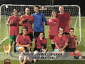 Generation Gap - CHAMPS Team Photo