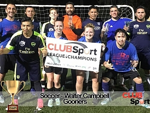 The Gooners - CHAMPS Team Photo