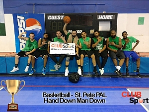Hand Down Man Down - CHAMPS Team Photo