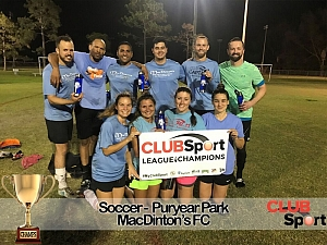 MacDintons FC - CHAMPS photo