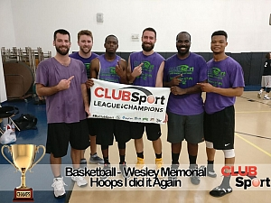 Hoops I Did It Again (h) - CHAMPS Team Photo