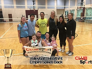Empire Spikes Back - CHAMPS photo