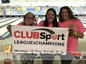 Bowling Babes - CHAMPS photo