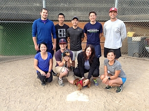 Ice Cold Pitchers Team Photo