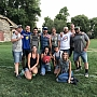 2018 co-ed kickball Champs Denim Venom