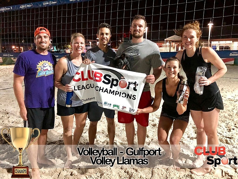 The Volley Lamas (r) - CHAMPS