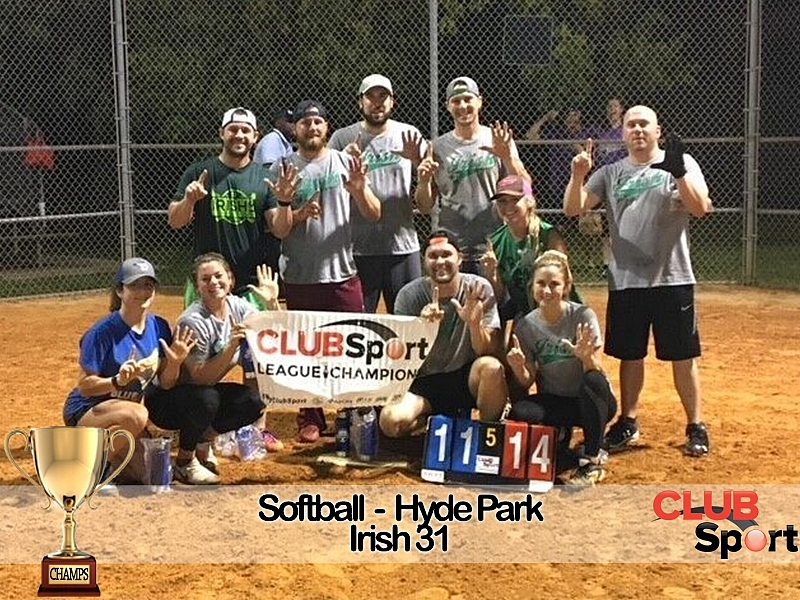 Irish 31 Softball