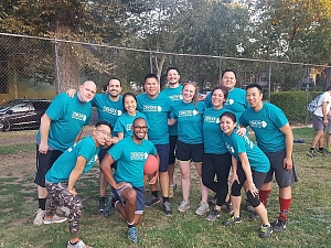 Balls of Teal Team Photo