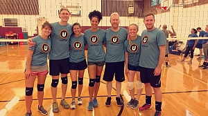 The Volley Llamas Team Photo