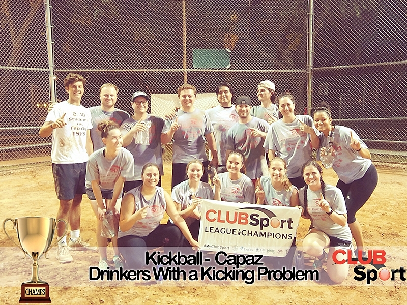 Drinkers with a Kicking Problem