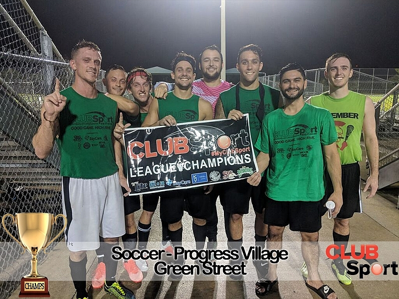 Green Street Spider Monkeys - CHAMPS