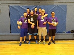 Balls to the Wall Team Photo