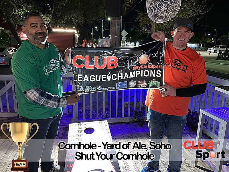 Shut Your Cornhole - CHAMPS