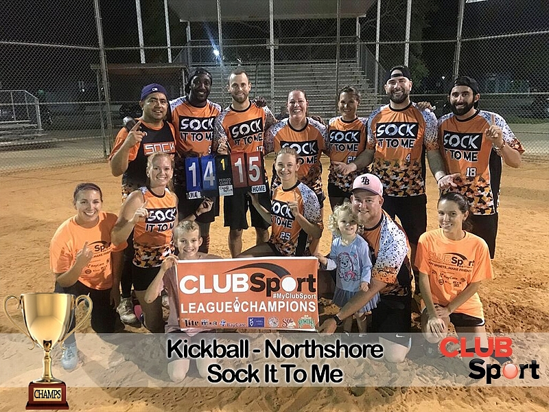 Sock It To Me - CHAMPS!
