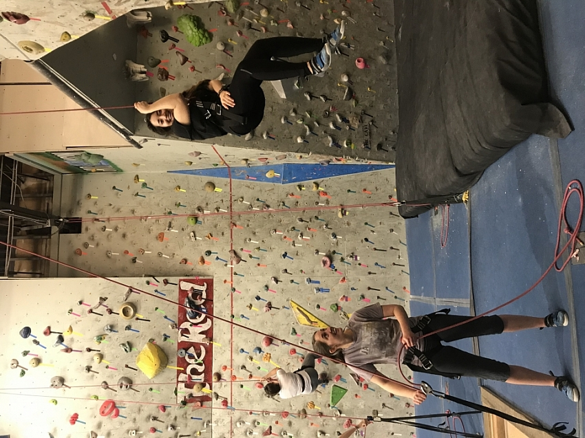 Wednesday Rock Climbing