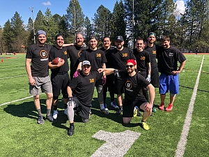 Gridiron Growlers Team Photo