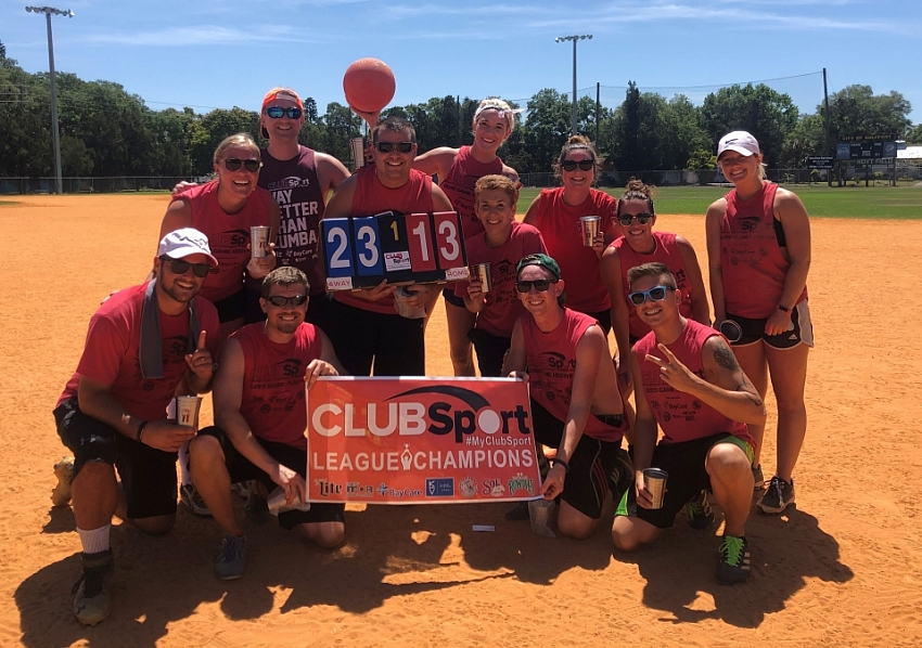 Champs Sunday kickball Gulfport