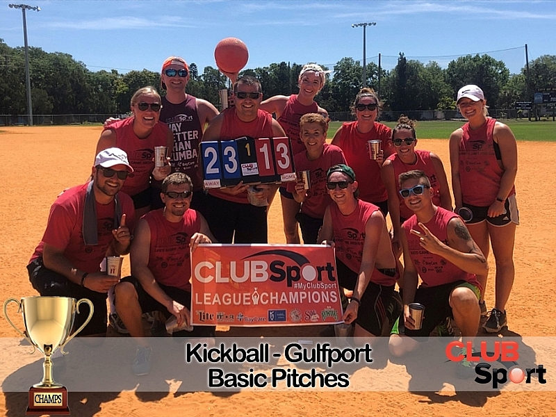 Basic Pitches - CHAMPS!