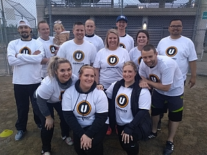 Off in the Out Field  Team Photo