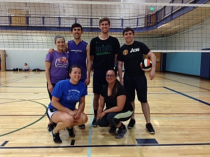 VolleyBallers Team Photo