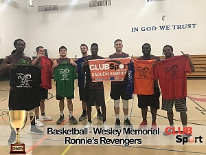 Ronnie's Revengers - CHAMPS photo