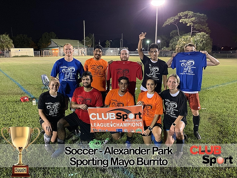 Sporting Mayo Burritos - CHAMPS