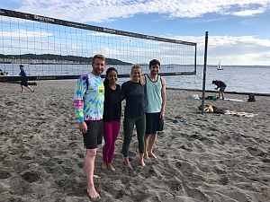 Beach Please Team Photo