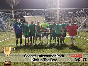 KICK IN THE BOX - CHAMPS photo